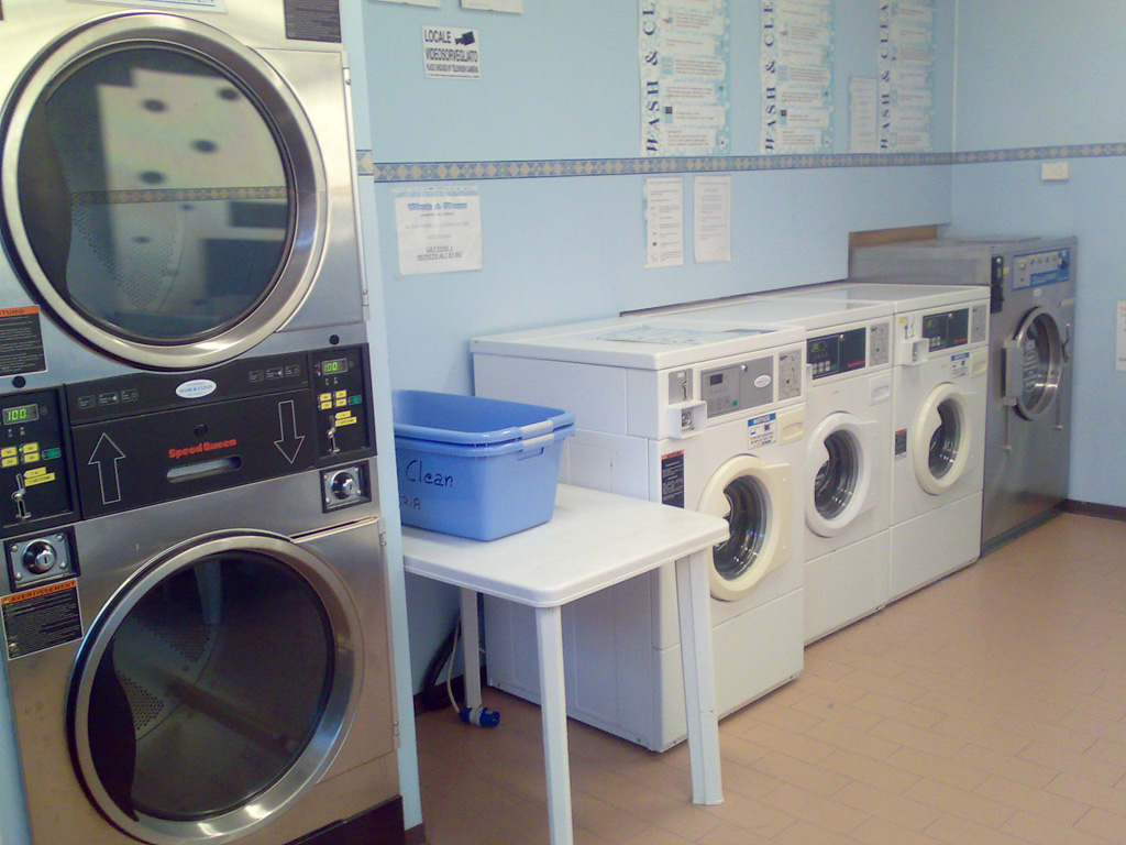 Self Service Laundry ~ Shops laundries laundry service self